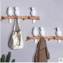 Wall decorations, home accessories, living room hanger, resin, bird, key, bedroom, Kitchen coat, wall hooks, hat, bag, h