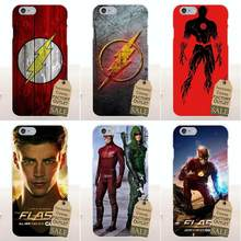 Super-heróis Do Flash Barry Allen Tv Macio TPU Moda Para Apple iPhone 4 4S 5 5C SE 6 6 s 7 8 Plus X Para LG G4 G5 G6 K4 K7 K8 K10(China)