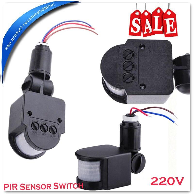 220v Home Led Light Pir Infrared Motion Sensor Detector