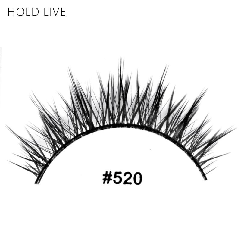 HOLD LIVE New 1Pair False Eyelashes Natural Black Long Crisscross Hand Made Makeup Eyelash Extension 22Style Fake Eye Lashes 520