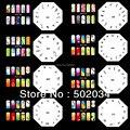 Красивый Дизайн Pro Аэрограф Ногтей Краска Трафарет Комплект Дизайн Комплект MJ-006 Бесплатная Доставка