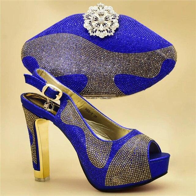 945e42b3b5 Chaussures italiennes avec sacs assortis pour mariage italie talons hauts  femmes chaussures de mariage décorées avec