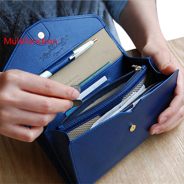 Multi - Purpose Travel Passport Holder Card Holder Women PU Business Passport Cover ID Credit Card Holder women Passport Wallet
