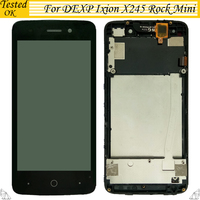 4.5 inch For DEXP Ixion x245 Rock Mini LCD Display With Touch Screen Digitizer Assembly Replacement With / Without Frame