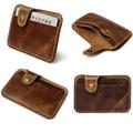 Fashion Money Slim Credit Card ID Holder Casual Purse Wallet Money Bag Cash Holder Card Bag Leather Clutch Handbags Vintage