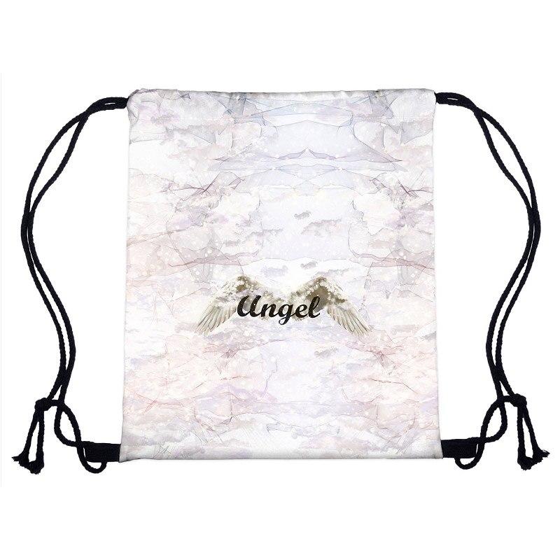 Das Beste Neue Mode Lässig Frauen Rucksack Tasche 3d Druck Reisetasche Weibliche Mochila Kordelzug Taschen Für Damen