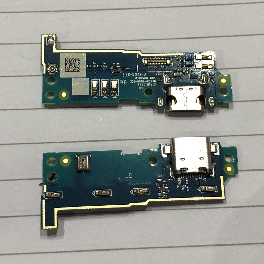 Original <font><b>USB</b></font> Charging Port Charger Board Dock Connector Flex Cable For <font><b>Sony</b></font> Xperia L1 G3311 <font><b>G3312</b></font> With Microphone Parts image