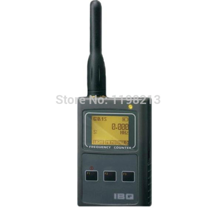 ФОТО IBQ101 handheld frequency meter 50MHz-2.6GHz for Two Way Radio Frequency Counter