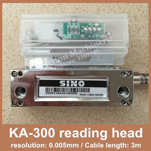 Free Shipping Original Sino KA300 linear scale reading head Sino KA-300 0.005mm reader with 1 year warrantyFree Shipping Original Sino KA300 linear scale reading head Sino KA-300 0.005mm reader with 1 year warranty