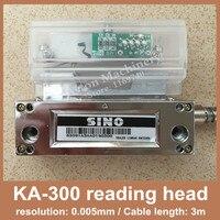 Frete Grátis Original cabeça de leitura de escala linear Ka300 sino Sino KA-300 0.005mm leitor com 1 ano de garantia