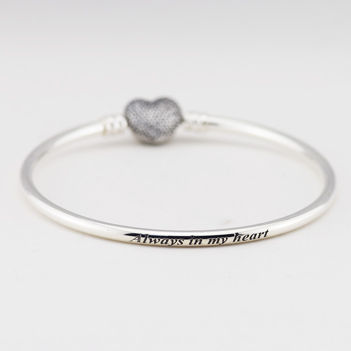 medical silver clasp awareness bangles bracelet bangle ribbon
