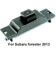 Специальный автомобиль Парковка Вид спереди Камера для Subaru Forester 2013 установить в оригинальный Камера отверстие/решетка Поддержка NTSC/ PAL ТВ Системы