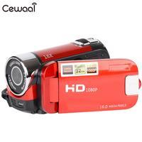 Cewaal USB видео камера емкостный сенсорный дисплей съемка DV камера фотография цифровая видеокамера небольшой рекордер видеокамера