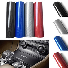 10/20/30cmx152cm 5D High Glossy Carbon Fiber Vinyl Film Wrap Interior Carbon Fiber Film Motorcycle Car Styling Accessories