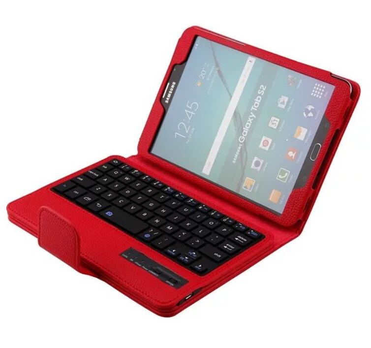 Prix pour Pour Samsung Tab S2 8.0 pouce T710 T715 Détachable Bluetooth Clavier Cas de Stand Tablet Cover