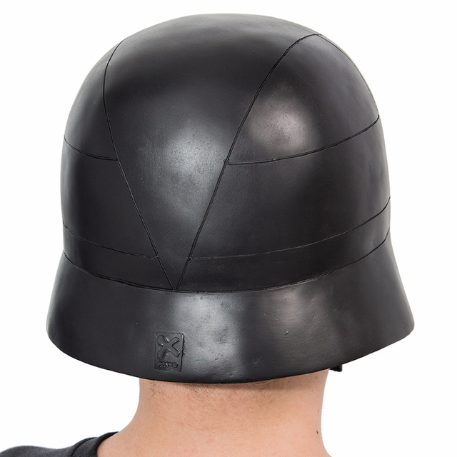 X-COSTUME Star Wars 7 The Force Awakens Kylo Ren Helmet Cosplay Props Cool PVC Full Head Helmet Black Mask Halloween Accessories 5