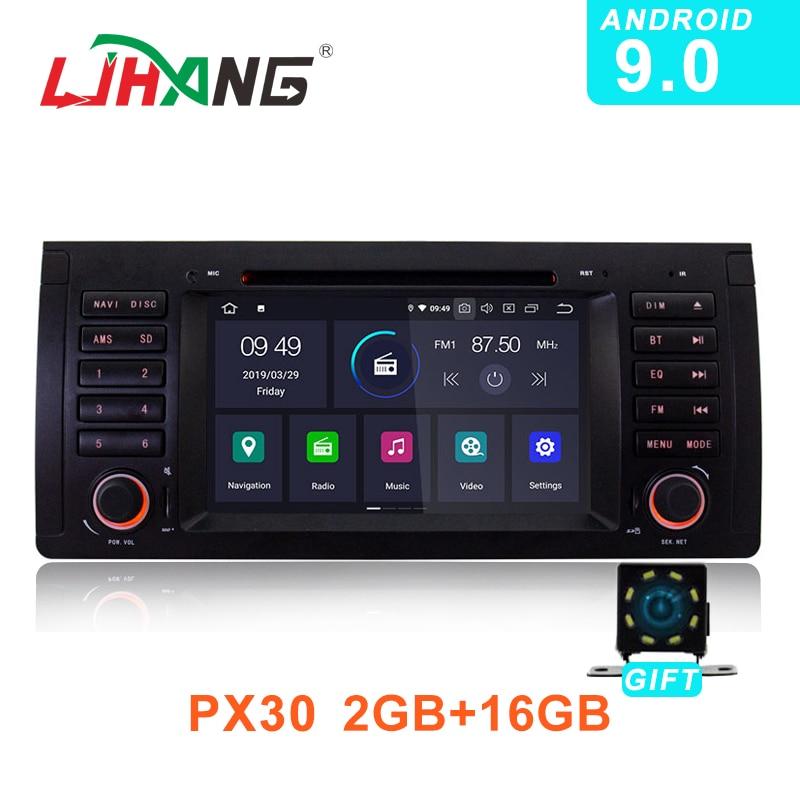 LJHANG IPS Android 9 0 Car Radio DVD for BMW E39 X5 M5 E38 E53 GPS
