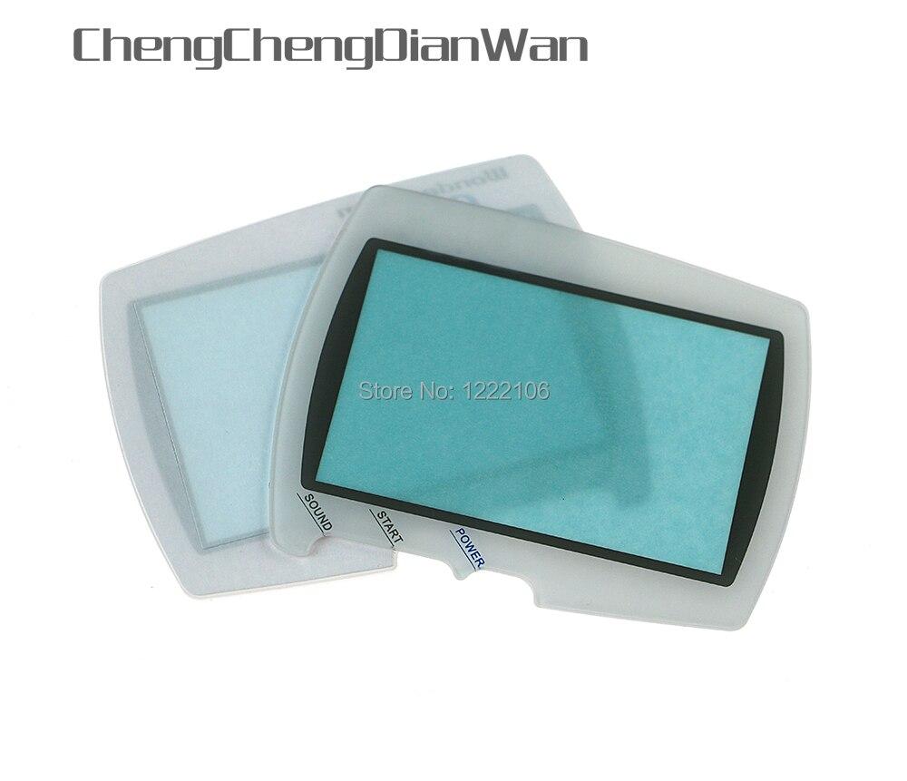 ChengChengDianWan Replacement For BANDAI Wonder Swan Color WSC Screen Lens Protector 50pcs lot