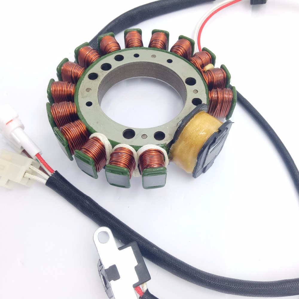 small resolution of new magneto stator coil ignition coil for yamaha warrior 350 atv quad dirt bike generator