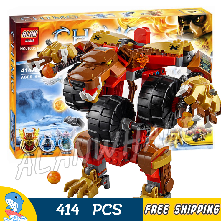 415pcs Bela New 10354 Bladvic's Rumble Bear Model Building Blocks Christmas Gift Movie Children Toys Compatible With lego rumble roses xx купить спб
