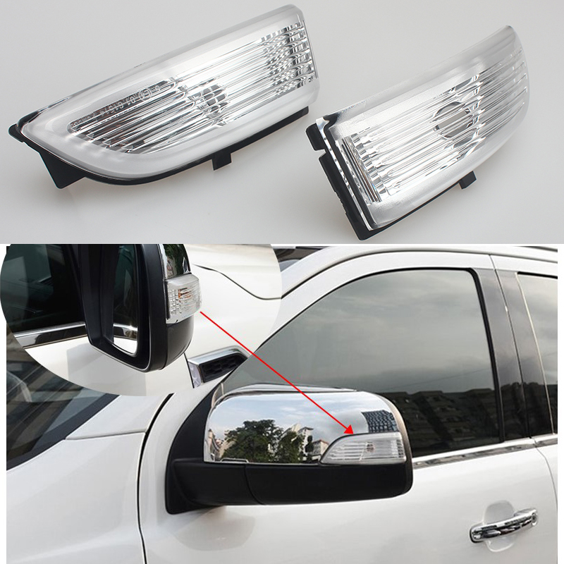 LED Rear View Mirror Signal Light For Ford Everest Ford Ranger 2012 2013 2016 2017 Car-styling Side Rearview Mirror Turning Lamp