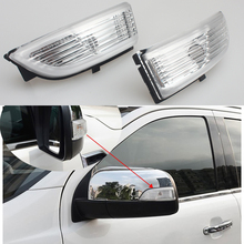 LED Rear View Mirror Signal Light For Ford Everest Ford Ranger 2012 2013 2016 2017 Car-styling Side Rearview Mirror Turning Lamp for buick excelle gt brand new car rearview mirror blue glasses led turning signal light with heating