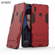 Huawei Honor Note 10 Case Armor Rubber Hard Back Phone For Cover Kickstand Fundas