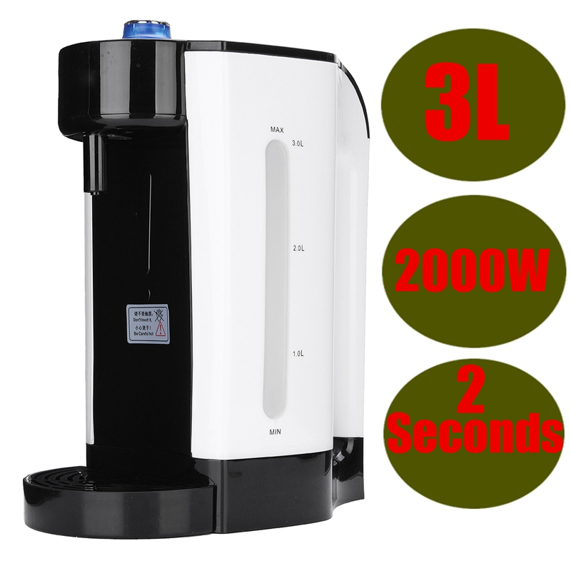 Hot Water Boiler Electric 3L Kettle Instant Dispenser Variable Temperature 2000W