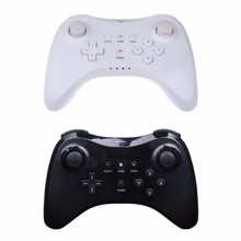 HOT High Quality Ergonomic Layout Wireless Classic Pro Controller Gamepad with USB Cable For Nintendo WiiU FW1S