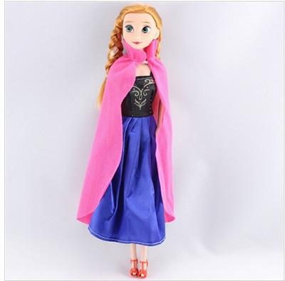 Original Princess elsa doll Anna Snow Queen Children Girls Toys 1