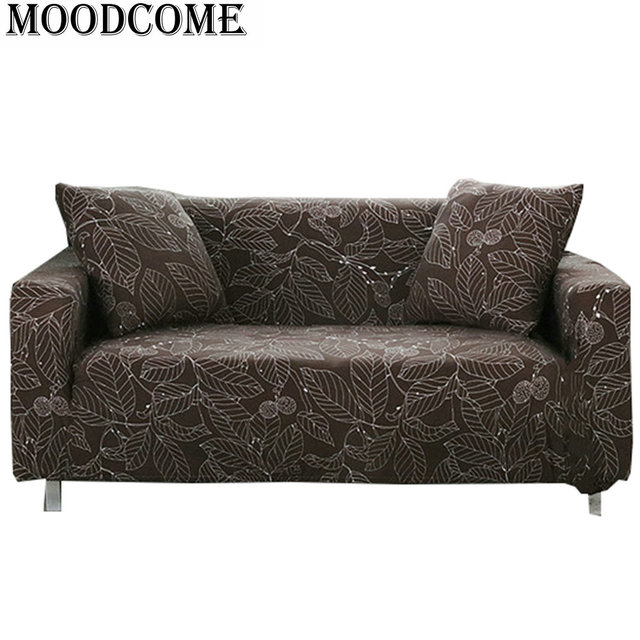 Tree Leaves Printed Sofa Cover Couch Covers Stretch Housse De Canape Love Seat Elastic