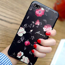 2018 Hot 3D Relief Flower Luxury Cases For Xiaomi A1 5X Redmi 5 plus 4A 4X Note 5A prime TPU Silicone Soft Cover Case