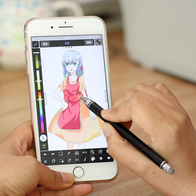 Stylus For Ipad Mini Air Pro Active Capacitance Touch Pen Painting