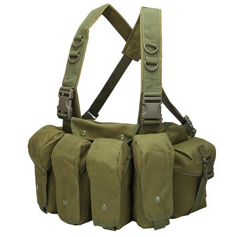 Tactical vest MOLLE system combat cs field equipment fans Quitai belly vest, hunting vest.