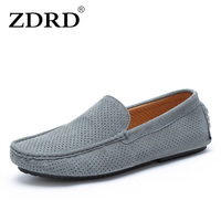 2017 New Summer Slippers Mens Casual Leather Shoes Men S Leather Shoes Breathable Soft Gommino Drive