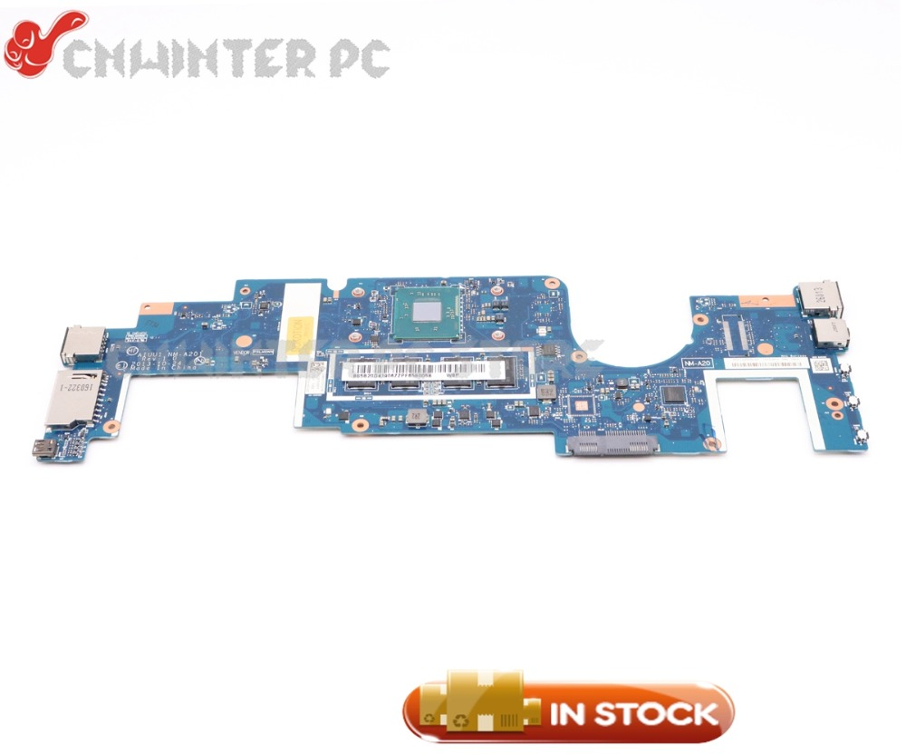 NOKOTION New AIUU1 NM-A201 MAIN BOARD For Lenovo yoga 2 11 Lptop Motherboard N3530 CPU 4GB RAM ON BOARD все цены
