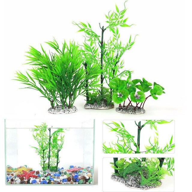 Fur 30 Cm Bambus Kunstliche Grune Unterwasser Rasenmaher Pflanze