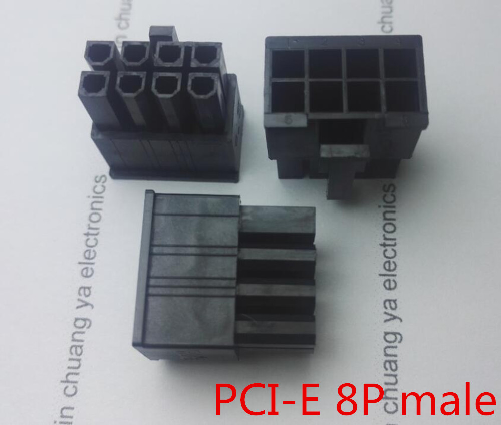 4.2 мм черный 8 P 8pin мужской для ПК компьютер atx видеокарта GPU pci-e PCIe Мощность п ...