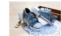 Free Shipping 2014 Children Shoes Kids Baby Sneaker Shoes For Boys Girls Canvas Causal Shoes Denim