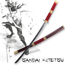 One Piece Sabre cosplay anime sword Carbon steel katana vintage home decor