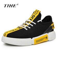 183c1c9d4e1d 2018 Лидер продаж для мужчин Вулканизированная обувь для демисезонный сетки  воздуха легкие мягкие высокие стиль одноцветное цвет