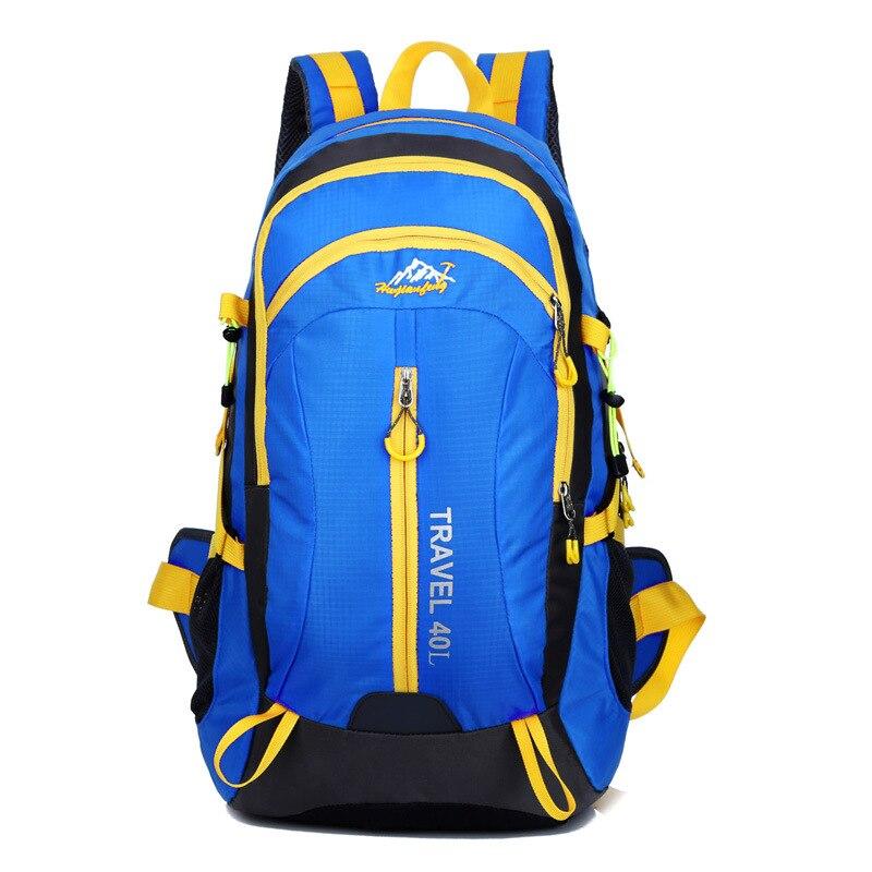 New Large Waterproof Oxford Backpack Teenager Schoolbag Double-Shoulder Rucksack Bicycle Travel Packs Riding Bags 3655