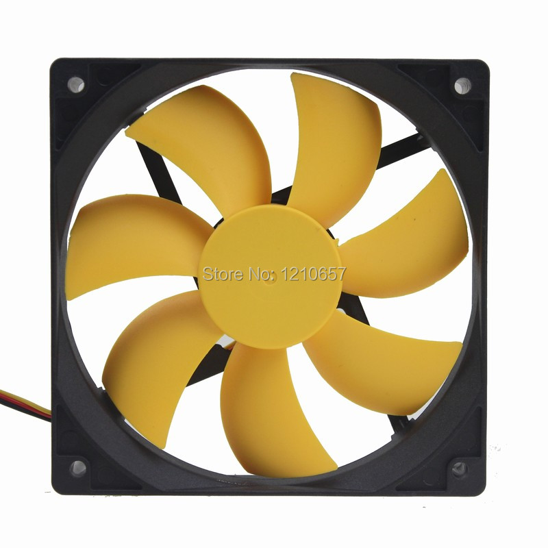 2Pieces lot Hydraulic 12CM Quiet Silent Cooling Fan 120mm 25mm DC 12V for PC Computer Chassis Case pccooler 12cm computer case cooling fan quiet cpu and power cooler fan cooling radiator fan 120mm computer pc chassis fan silent