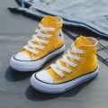 Детская обувь для девочек; детская парусиновая обувь; кроссовки для мальчиков; сезон весна-осень; обувь для девочек белого цвета; модная одн...