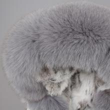 maomaokong 2018 futro biały bawełna kurtka zima futro kurtka tanie tanio Kobiet Prawdziwe futro Regularne W MAOMAOKONG Futro futro Fox Grube ciepłe futro Seks-1 Pełne Naturalny kolor Szczupła
