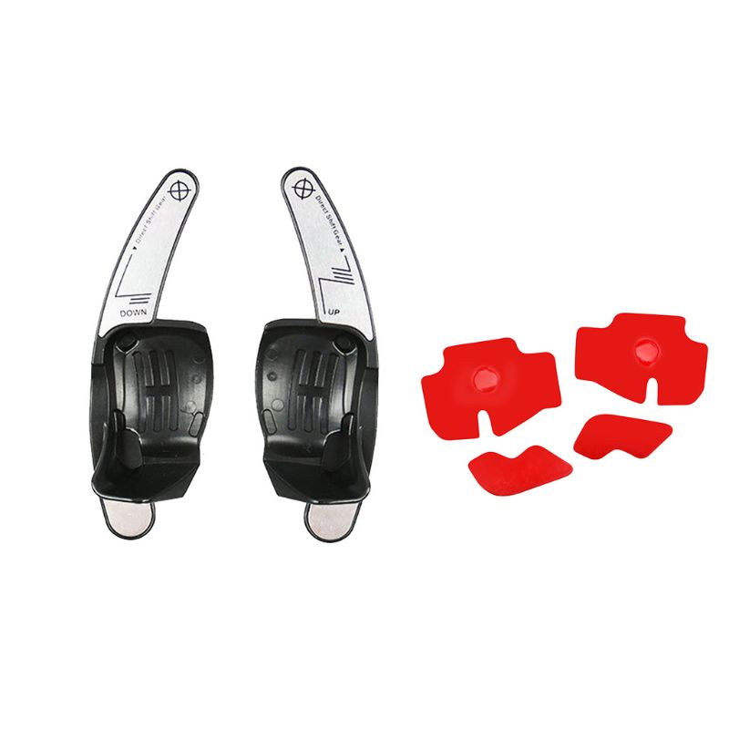 New Car Steering Wheel Shift Paddle Extension Auto DSG Direct Shift Gear Car Parts For Golf Jetta MK6 R20 CC R36 in Steering Wheels Steering Wheel Hubs from Automobiles Motorcycles