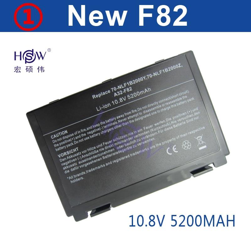 HSW 6cells Battery For Asus a32-f82 a32-f52 a32 f82 F52 k50ij k50 K51 k50ab k40in k50id k50ij K40 K42 k42j k50in k60 k61 k70 цена