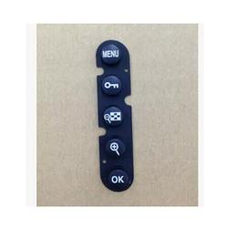 2 sztuk/nowy z tyłu powrót skrzynki pokrywa gumowe klawisz Menu przycisk klawiatury dla Nikon D300 D300s D700 naprawy części w Części obiektywu od Elektronika użytkowa na