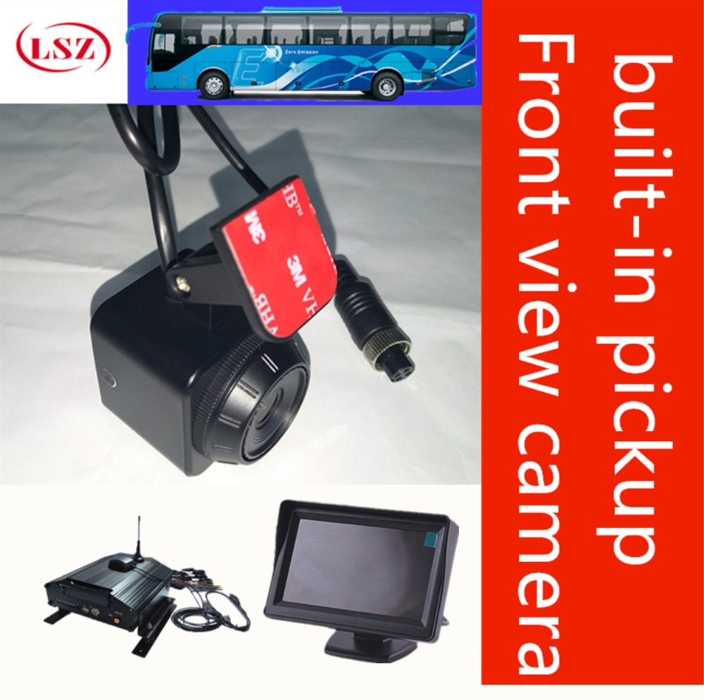 Car front camera one million and three hundred thousand high-definition pixel surveillance camera NTSC/PAL standard non waterproof anti vehicle camera one million and three hundred thousand hd front camera nearside offside