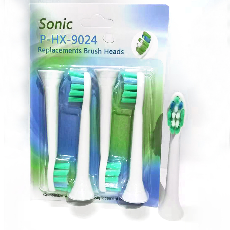 4pcs/lot HX-9024 Replacement Toothbrush Heads For Philips Sonicare HydroClean Diamond Clean P-HX-9024 Electric Tooth Brush Heads image